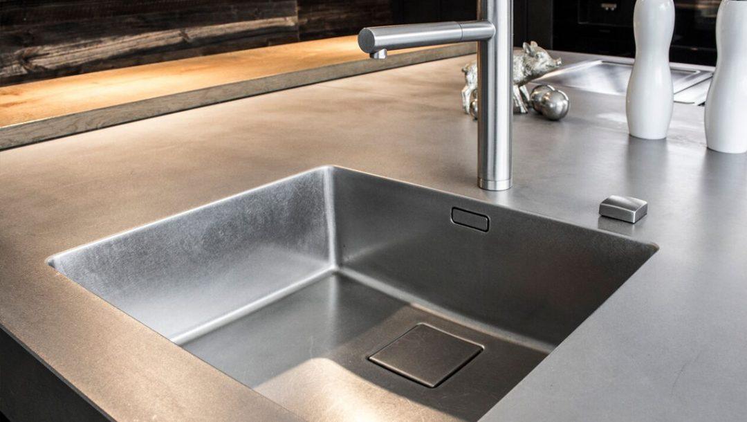 Küchenstudio Bingel - Stahl Spülbecken Hahn Edelstahl